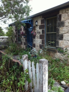 A seafarer's cottage near the windswept dunes in Pt Fairy, Victoria, Australia